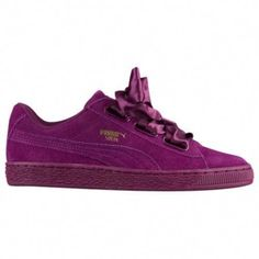 free shipping b1188 88968 One of the most popular PUMA shoes gets woven bow lacing that will make any  girls
