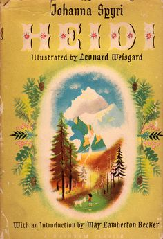 illustrated by Leonard Weisgard. Ack! Those pine needles and oak leaves are so darn charming.
