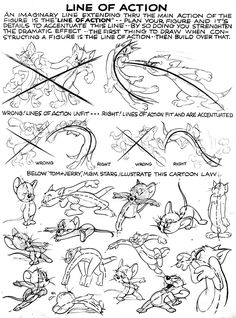 CSE 459 - Assignment #3 Gesture Drawing, Drawing Skills, Drawing Lessons, Cat Drawing, Figure Drawing Reference, Animation Reference, Art Reference Poses, Easy Cartoon Drawings, Cartoon Drawing Tutorial