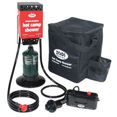 Portable and self-contained, the Instant Hot Tap Shower from Zodi Outback Gear is ideal for family camping, emergencies, RVs and more. This shower is equipped with a stainless steel burner, and provides soothing hot water in just seconds.