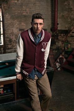 JACK & JONES VINTAGE CLOTHING Autumn 2013 Campaign - new but looks so classic