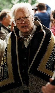 Bill Reid ~ Haida Artist and Carver. Bill was born in Victoria BC