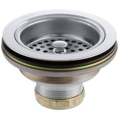 KOHLER Duostrainer 4-1/2 in. Sink Strainer in Polished Chrome-K-8799-CP - The Home Depot