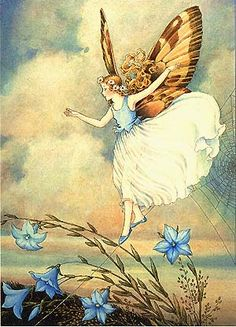 Balance on web, by Ida Rentoul Outhwaite
