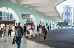 Abu Dhabi Bus Station, UAE