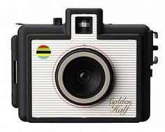 The Golden Half 35mm  (1/2 frame) Camera - Black $35.00