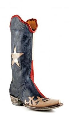 I NEED these Old Gringo Texas flag boots in my life, like, yesterday. I would seriously wear them every single day.