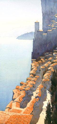 Michael Reardon is an award-winning watercolorist based in Oakland, California. An avid traveller, he is inspired to create by landsc...