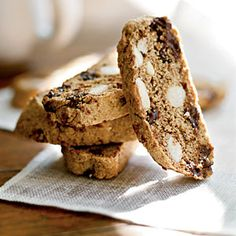 Deep Dark Chocolate Biscotti - 100 Delicious Recipes for Chocolate Desserts - Cooking Light