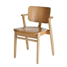 For Sale on - Ilmari Tapiovaara Domus chair in natural oak for Artek. Designed in 1946 and produced by Artek of Finland. Executed in natural lacquered oak wood. Modern Furniture, Furniture Design, Furniture Chairs, Oakwood Furniture, Dream Furniture, Furniture Ideas, Scandinavian Chairs, Scandinavian Modern, Work Chair