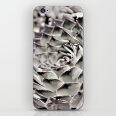 Succulent Close-Up iPhone & iPod Skin by ARTbyJWP in Society6 #phonecases #cactus #phoneaccessories