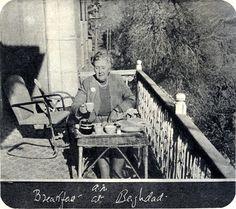 Agatha Christie - Breakfast in Baghdad.