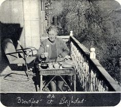 Agatha Christie - Breakfast in Baghdad.