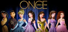 I am huge fan of Once Upon A Time, been watching whole seasons (waiting for season so I wanted to make a disney princess version of OUAT. Once Upon A Time Princesses Disney Princess Art, Disney Art, Disney Movies, Disney Princesses, Cinderella Disney, Disney Characters, Fictional Characters, Ouat, Once Upon A Time