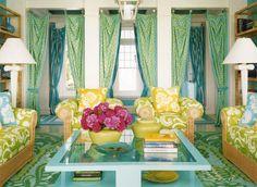 yeşil renk dekorasyon
