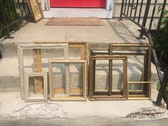 Gold Frame set, Open wall gallery picture frames, Instant Collection of 8 Vintage Rustic wedding Photo prop, Shabby cottage Victorian home Rustic Wedding Photos, Wedding Photo Props, Victorian Farmhouse, Victorian Homes, Shabby Cottage, Cottage Chic, Picture Hangers, Picture Frames, Vintage Wood