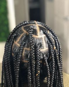 10 Box Braids Inspo-Worthy Style for Natural Hair Hair box braid inspiration styles for your winter or spring hairstyle on natural hair. See and try these style for yourself. Box Braids Hairstyles, Frontal Hairstyles, Braids Wig, Spring Hairstyles, My Hairstyle, African Hairstyles, Hairstyles 2018, Hairstyles Games, Side Braids