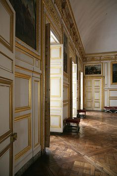 Chateau de Versailles Detail, King's & Queen's State Apartments - Versailles_08