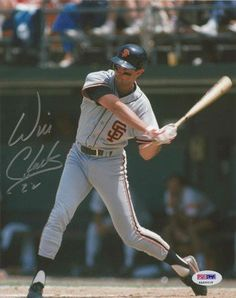 Autographed Will Clark Picture - 8x10 Itp The Thrill - PSA/DNA Certified - Autographed MLB Photos by Sports Memorabilia. $93.51. WILL CLARK SIGNED 8X10 PHOTO PSA/DNA ITP SAN FRANCISCO GIANTS THE THRILL