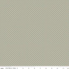"""dots in Gray"" from the Kensington designer fabric collection by Emily Taylor for Riley Blake Designs."