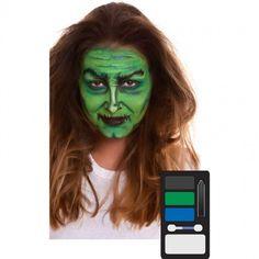 Paleta Maquillaje de Bruja Halloween #maquillajehalloween #efectosespeciales Moda Emo, Halloween Makeup, Cosplay, Green, Products, Carnival, Halloween Night, Makeup Pallets, Artistic Make Up