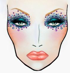 CharlieTredway Make-up Artistry: Other Face Chart looks I designed