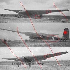 Foto-Negative Messerschmitt ME 321 Gigant Lastensegler glider Flugzeug Luftwaffe in Sammeln & Seltenes, Militaria, 1918-1945 | eBay