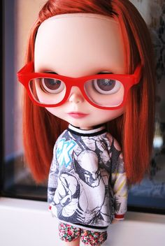 Blythe Doll. OMG. This is me in 7th grade. So sad and awesome. :)