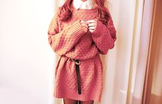 sweater dress: LOVE this so much