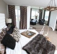 Master Bedroom with retreat & en suite in view. Rainbow Falls, Autumn Home, Building A House, Master Bedroom, Home Decor, Master Suite, Homemade Home Decor, Fall Decorating, Interior Design