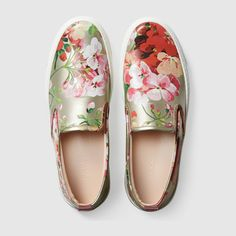 These Gucci metallic florals are so pretty and fresh…