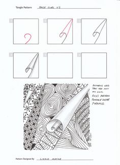 Zentangle Pattern Gallery | zentangle patterns 3 - a gallery on Flickr