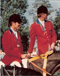 James Wofford and Mike Plumb at the 1978 World Championships