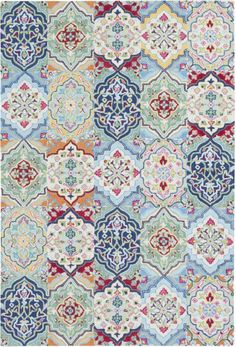 Buy the Surya Multi-Color Direct. Shop for the Surya Multi-Color Castille x Rectangle Wool Hand Tufted Traditional Area Rug and save. Fabric Patterns, Print Patterns, Floral Patterns, Decoupage, Rectangle Area, Traditional Area Rugs, Grey Carpet, Photoshop, Pattern Wallpaper