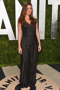 Cote de Pablo at the Vanity Fair Oscars Party 2/24/13