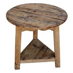 19th C. English Pine Cricket Table