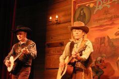 Avant le dîner-spectacle la Légende de Buffalo Bill - 2007