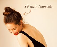 A CUP OF JO:  14 hair tutorial for long hair