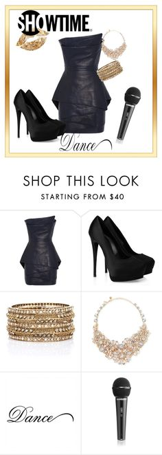"""""""Showtime"""" by xan86 ❤ liked on Polyvore featuring Balmain, Giuseppe Zanotti, Oliver Gal Artist Co., Rosena Sammi Jewelry and Kate Spade"""