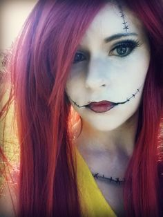 Sally Makeup by TheDreamerWithin616   Corpse Bride #cinema #makeup