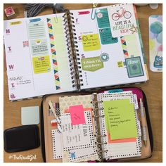 """Day 4: GTD (Getting Things Done). Transferring all of my business related sticky notes in my #katespadewellesley planner to my #inkWELLpressplanner. I…"""