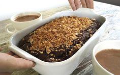 Čokoládovo - kokosová buchta s horkou COCOládou