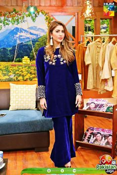 Velvet Fashion, Formal Dresses For Weddings, Baby Dress, Beautiful Dresses, Bell Sleeve Top, Suits, Pakistani, Clothes, Tops