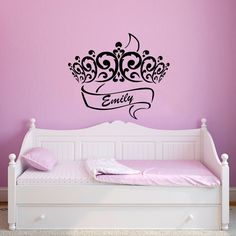 Wall Decals Little Girls Custom Personalized Name Ballerina Girl - Custom custom vinyl wall decals uk