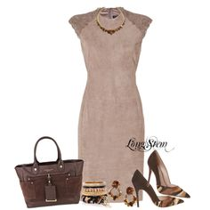 """""""Suede"""" by longstem on Polyvore"""