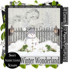 Sweet Addictionz Scraps: PTU kit now FTU Winter Wonderland