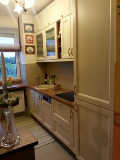 kicsi lakás pici, ám gyönyörű konyhája - internet