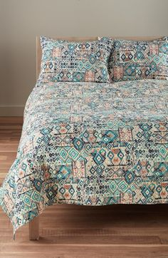 Free shipping and returns on Levtex 'Lisbon' Reversible Quilt at Nordstrom.com. Bold, globally inspired patterns in bright hues enhances the fresh, modern look of a channel-stitched cotton quilt, while a vibrant coordinating print covers the reverse.