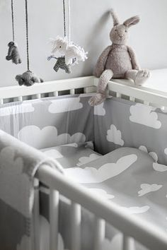 cloud bedding~Gunila Axin created this design in 1967 and it has become one of Sweden's most classic designs.