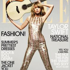 Taylor Swift:  MY ELLE COVER JUST CAME OUT AND I'M SO HAPPY THE INTERVIEW WAS DONE BY ONE OF MY BEST FRIENDS @TAVITULLE.